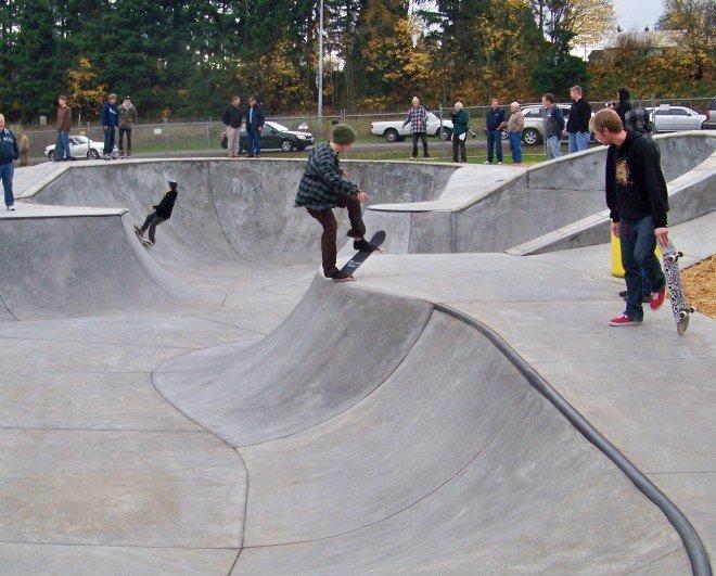 Площадки скейт-парков и роллердромов 15