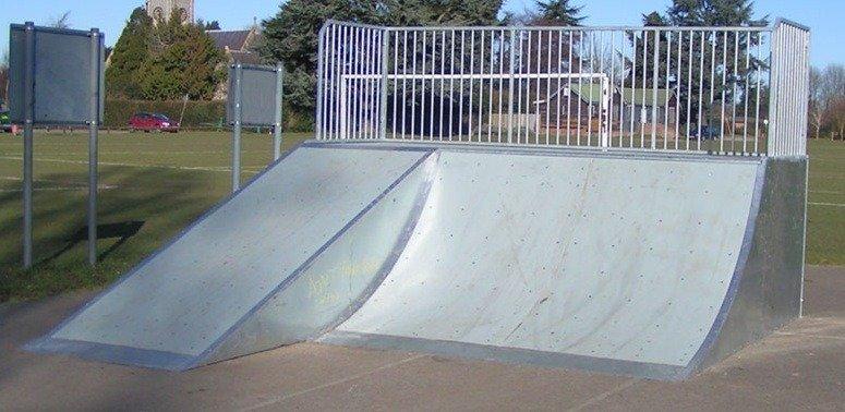 Площадки скейт-парков и роллердромов 17