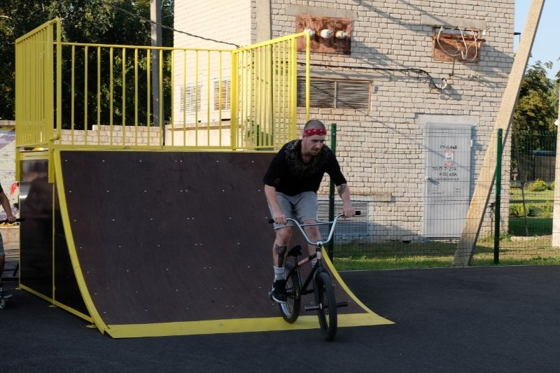Площадки скейт-парков и роллердромов 18