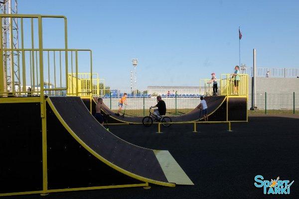 Оборудование для скейтпарков и роллердромов 4