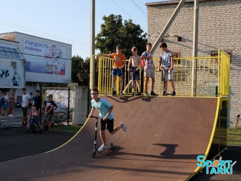 Площадки скейт-парков и роллердромов 1