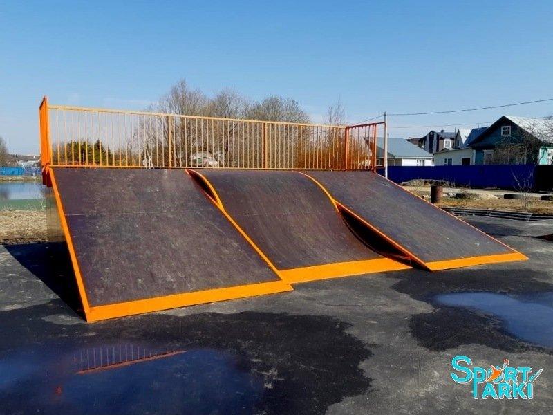 Площадки скейт-парков и роллердромов 2