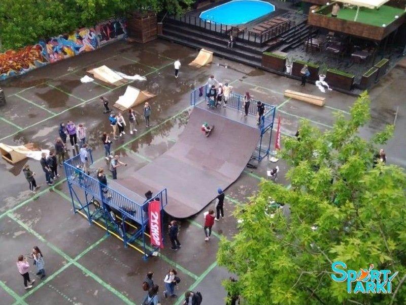 Площадки скейт-парков и роллердромов 3