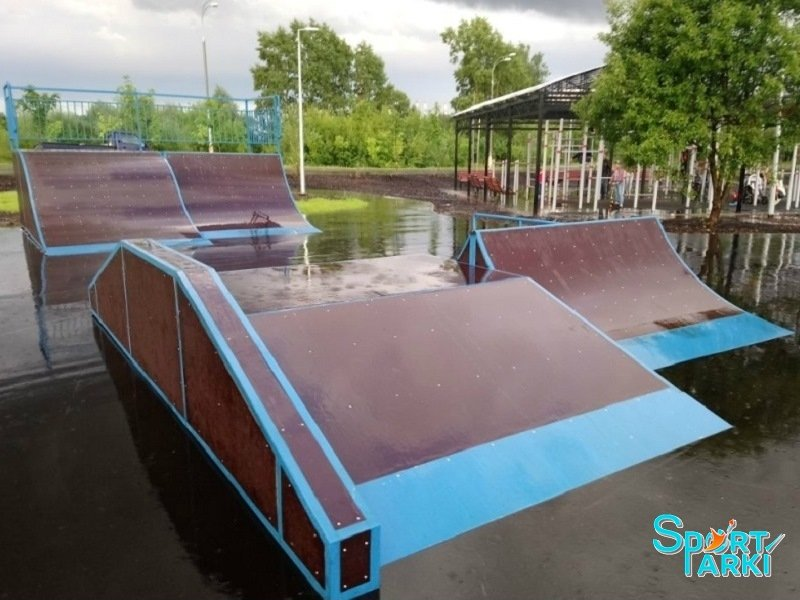 Площадки скейт-парков и роллердромов 4