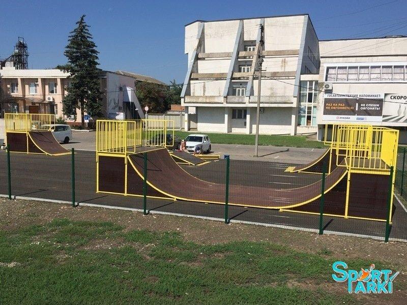 Площадки скейт-парков и роллердромов 5