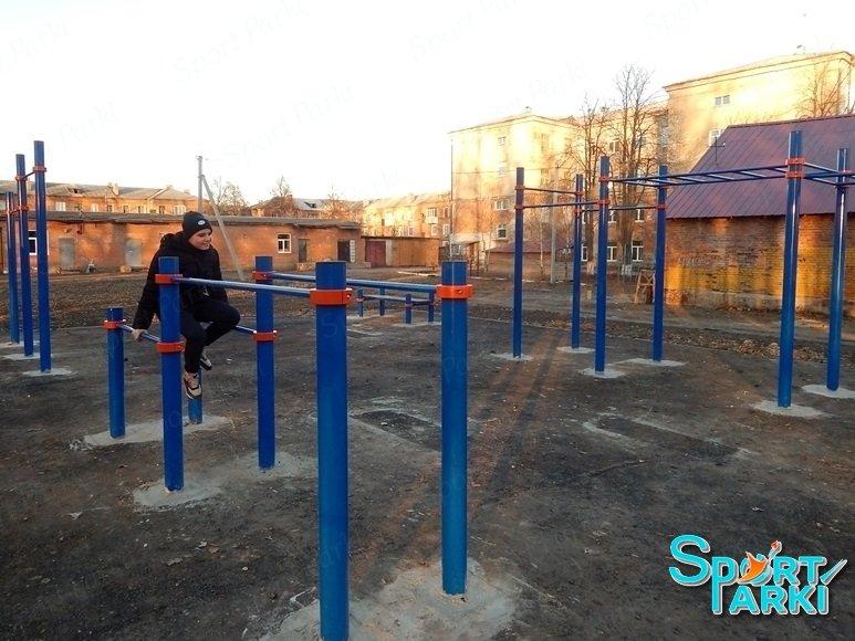 Площадки Воркаут 2