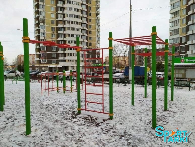 Площадки Воркаут 3