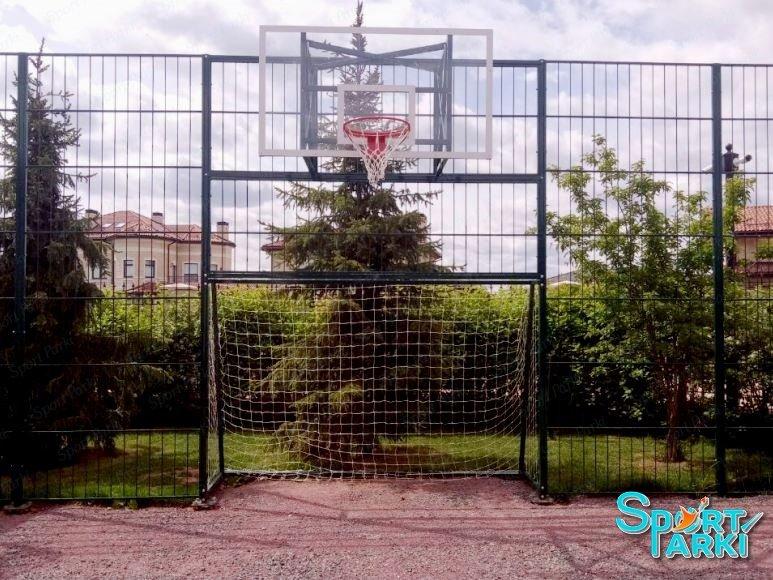 Ограждение универсальных спортивных площадок 1