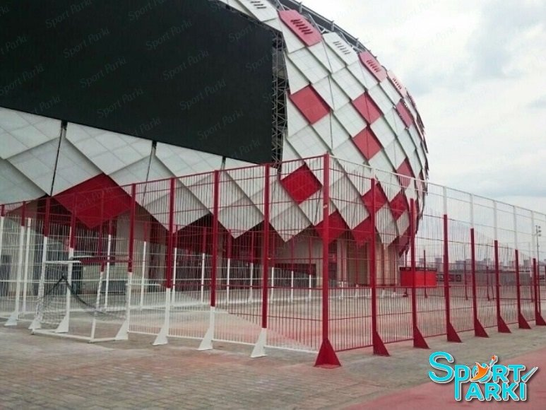 Ограждение универсальных спортивных площадок 2