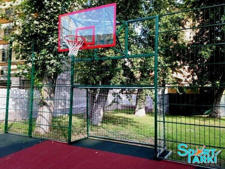 Ограждение универсальных спортивных площадок 3