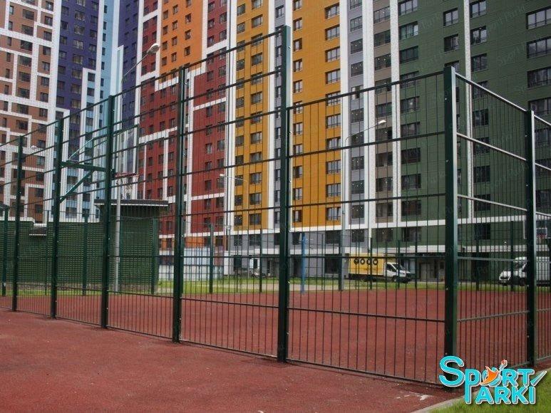 Ограждение универсальных спортивных площадок 6