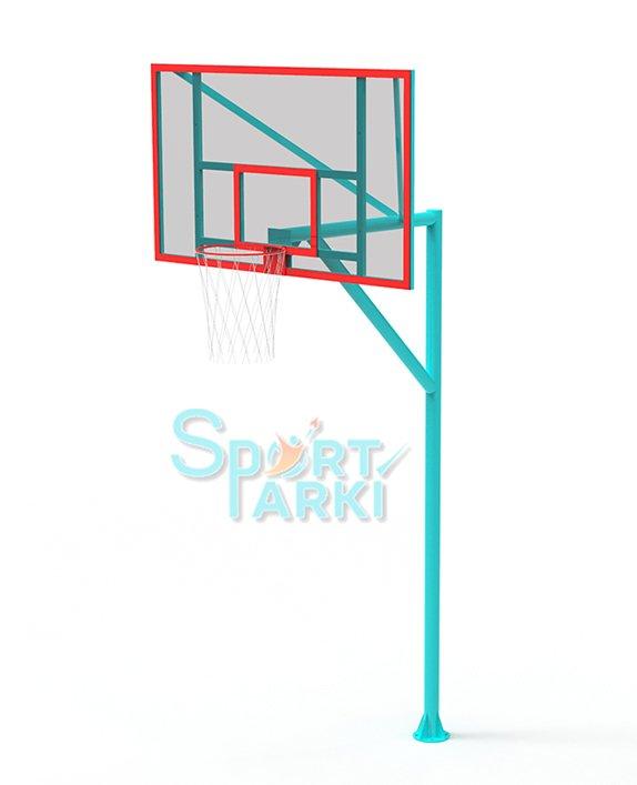 Стойка с баскетбольным кольцом БС-001