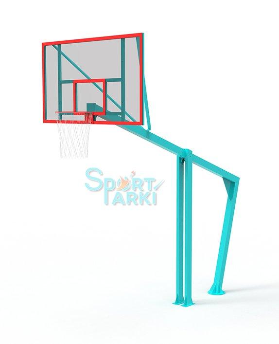 Стойка с баскетбольным кольцом БС-003
