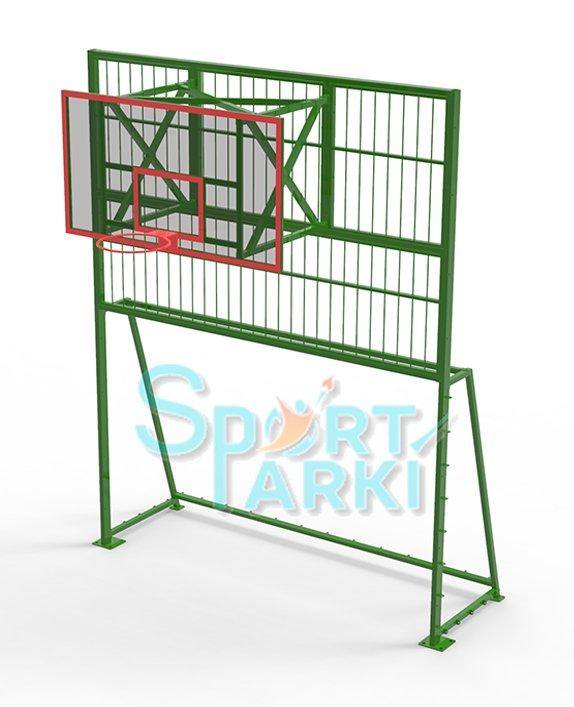 Ограждение универсальных спортивных площадок 13