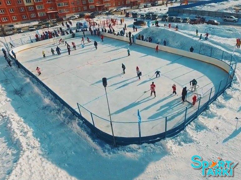 Ограждение хоккейной площадки 3