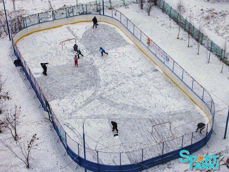 Ограждение хоккейной площадки 1