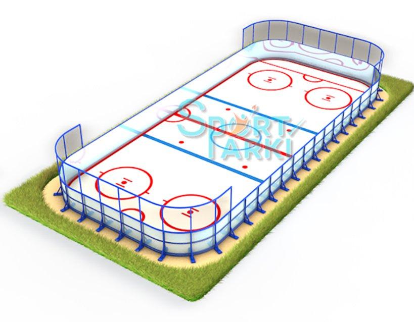 Ограждение спортивных площадок, стойкое к механическим повреждениям, от Sport-parki 3