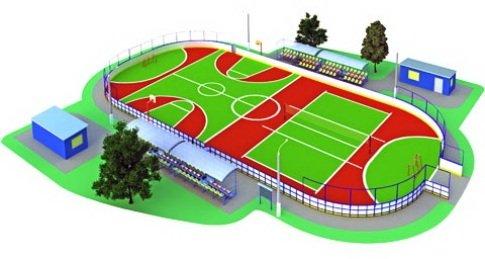 Хоккейная коробка. Особенности конструкции. Монтаж от производителя «Sport-parki».