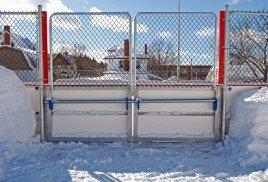 Хоккейная коробка. Особенности конструкции. Монтаж от производителя «Sport-parki». 1
