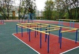 Производство школьных спортивных площадок 1