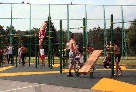 Чего можно добиться на уличной спортивной площадке