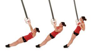 Лучшие упражнения с гимнастическими кольцами 4