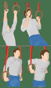 Лучшие упражнения с гимнастическими кольцами 5