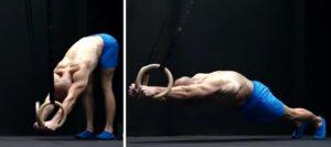 Лучшие упражнения с гимнастическими кольцами 7